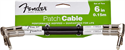 "Slika FENDER 6"" CABLE BLK 2 PACK"